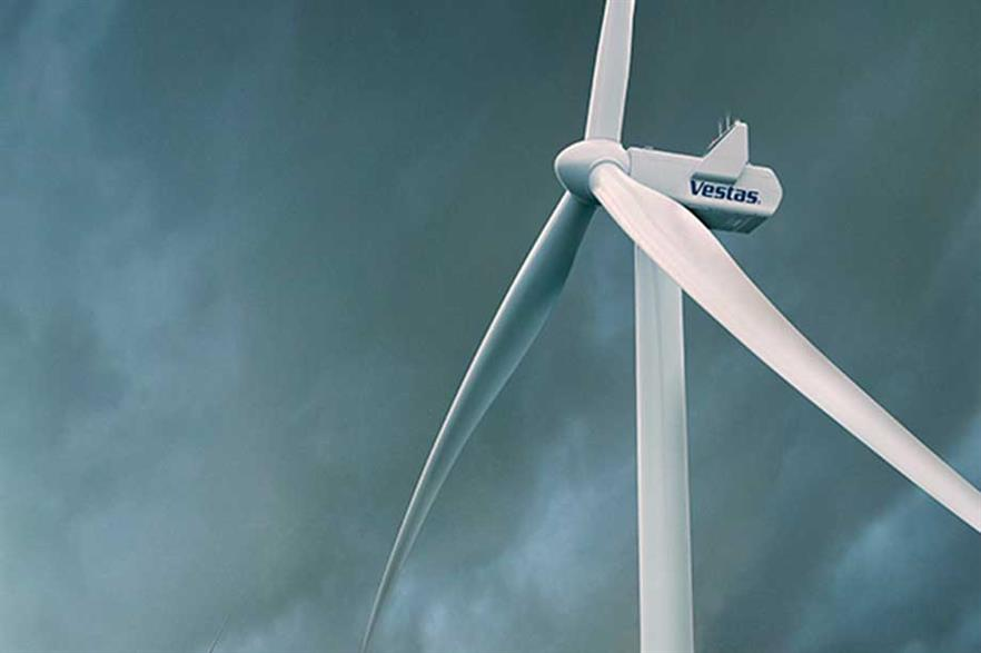 Vestas V150-4.0/4.2MW on 166-metre tower will have a tip height of 241 metres