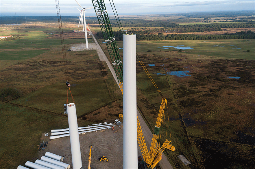 Denmark is the cheapest location for wind energy, both onshore and offshore, according to IEA data (pic: Frank Boutrup Schmidt/Vestas)