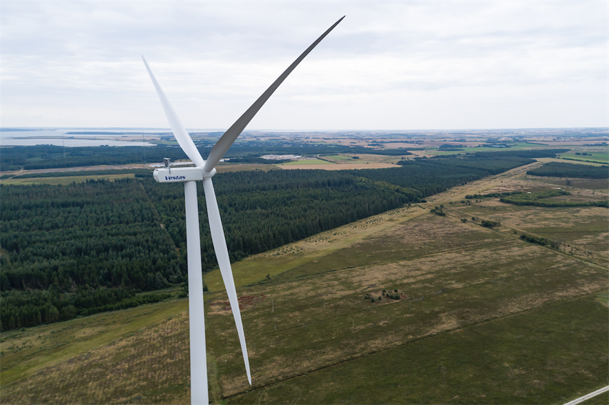 Vestas expects to produce the first kWh of power from its V155-3.3MW prototype at Østerild in early September