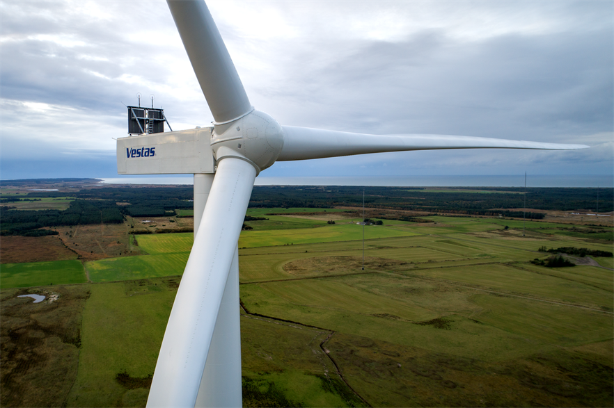 Vestas will install its V162-6.0MW turbine in eastern Europe for the first time