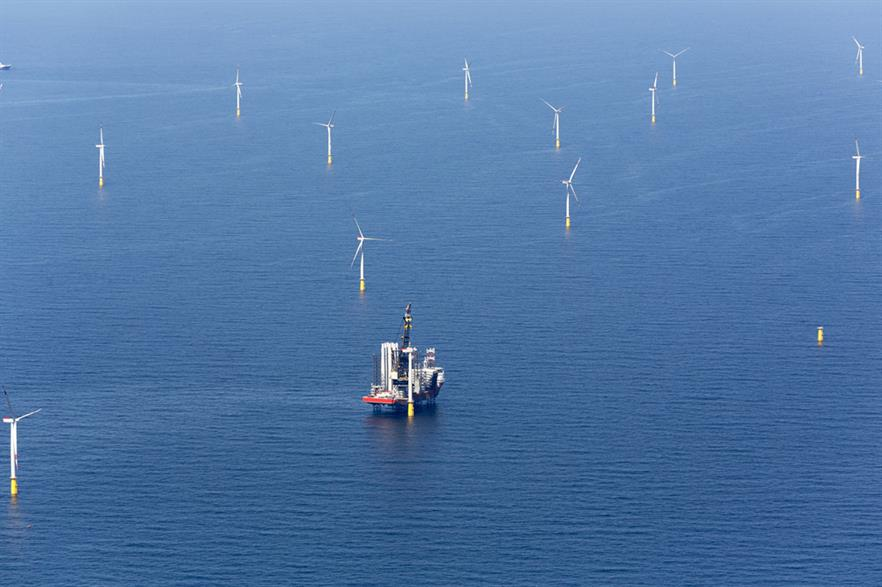 DanTysk's turbines were installed in less than five months (pic: Vattenfall)