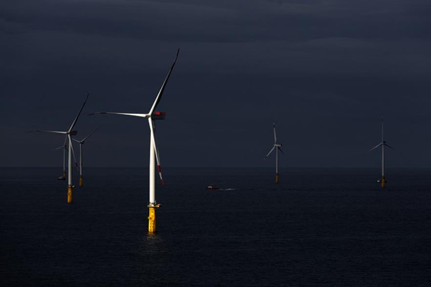 Vattenfall's 288MW DanTysk project is expected to boost Germany's wind production this year
