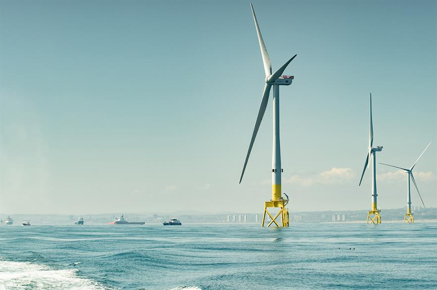 There is over 900MW of operating offshore wind capacity in Scotland's waters (pic: Vattenfall)