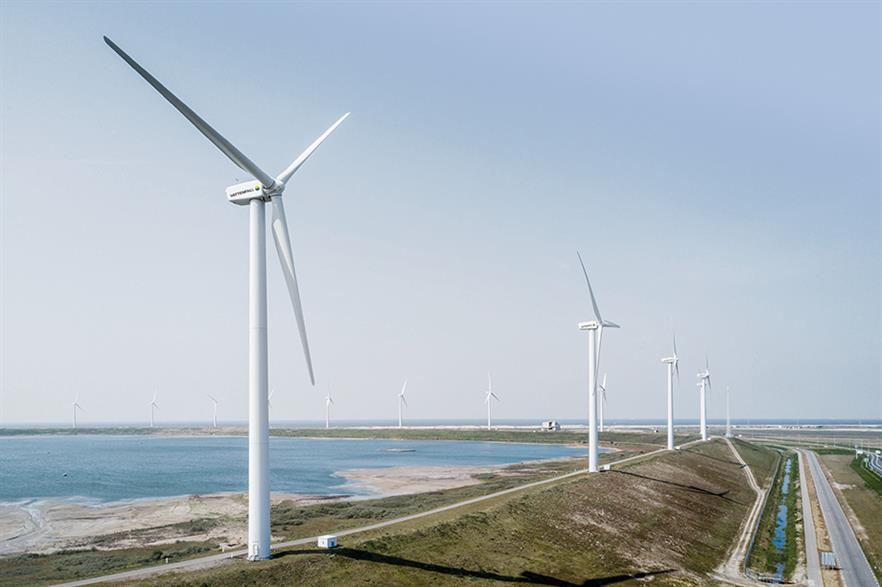 The Slufterdam repowering project helped the Netherlands add 345MW last year (pic: Vattenfall)