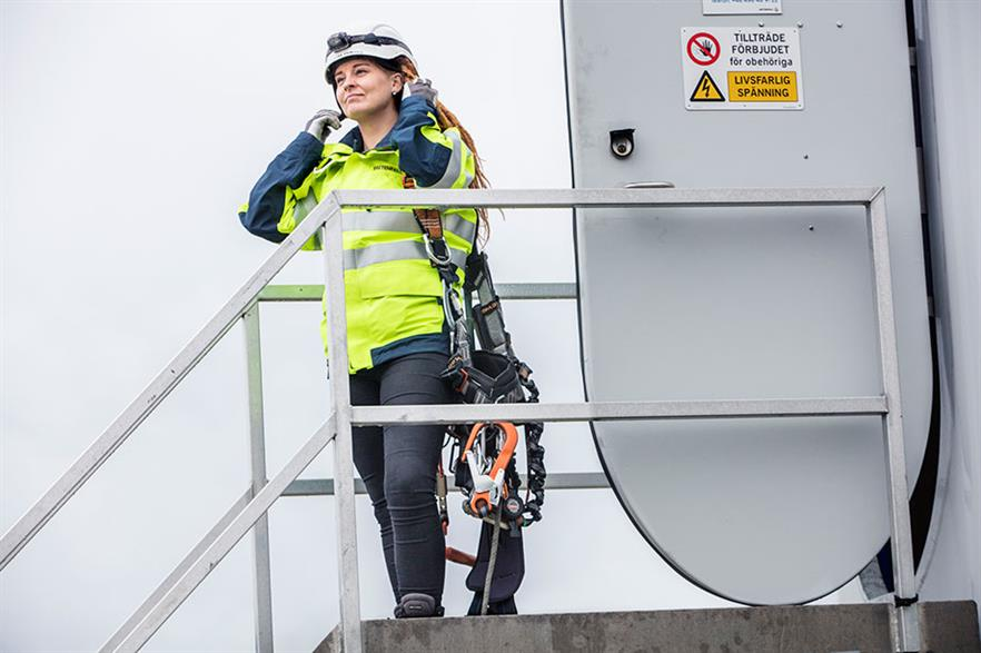 """""""Women often think they have to be 110% qualified to apply for a job, whereas men think they only have to be 40% qualified"""" (pic: Niels Vester/Vattenfall)"""