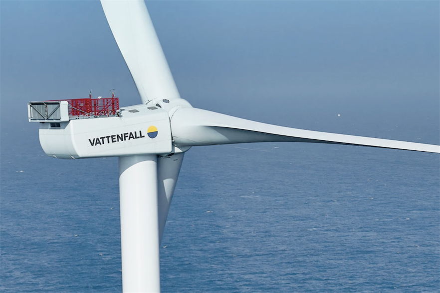Vattenfall's 1.8GW Norfolk Vanguard and 1.8GW Norfolk Boreas projects are expected to deliver first power to the grid in the mid-to-late 2020s