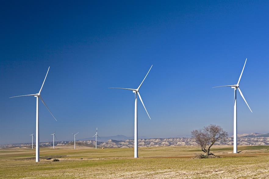 Acciona's 33-turbine 49.5MW Vedadillo project in Navarre, Spain