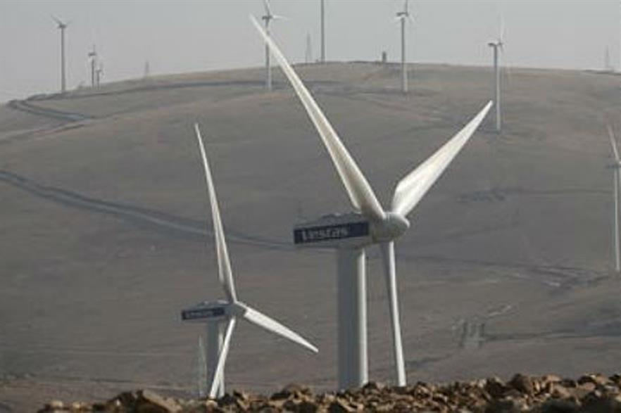 The project will feature 850kW Vestas turbines