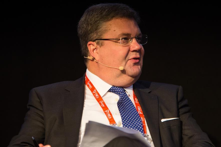 Anders Runevad has held the post of Vestas CEO for six years (pic credit: WindEurope)