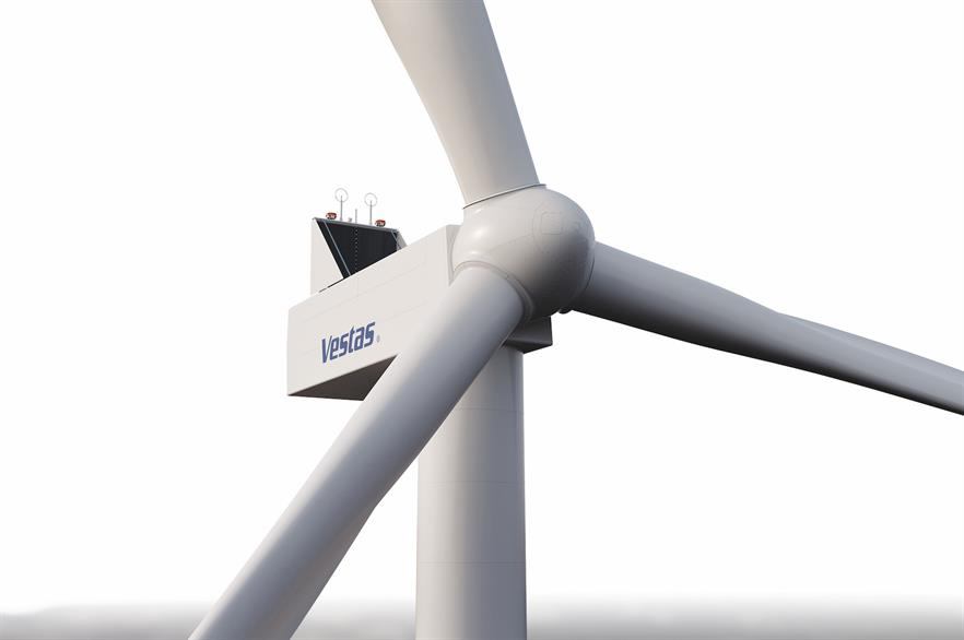 The V138-3.0MW is part of Vestas' EnVentus platform that it launched in January