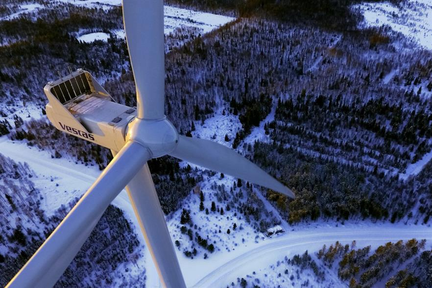 Vestas signed more than 12GW of turbine orders in 2018