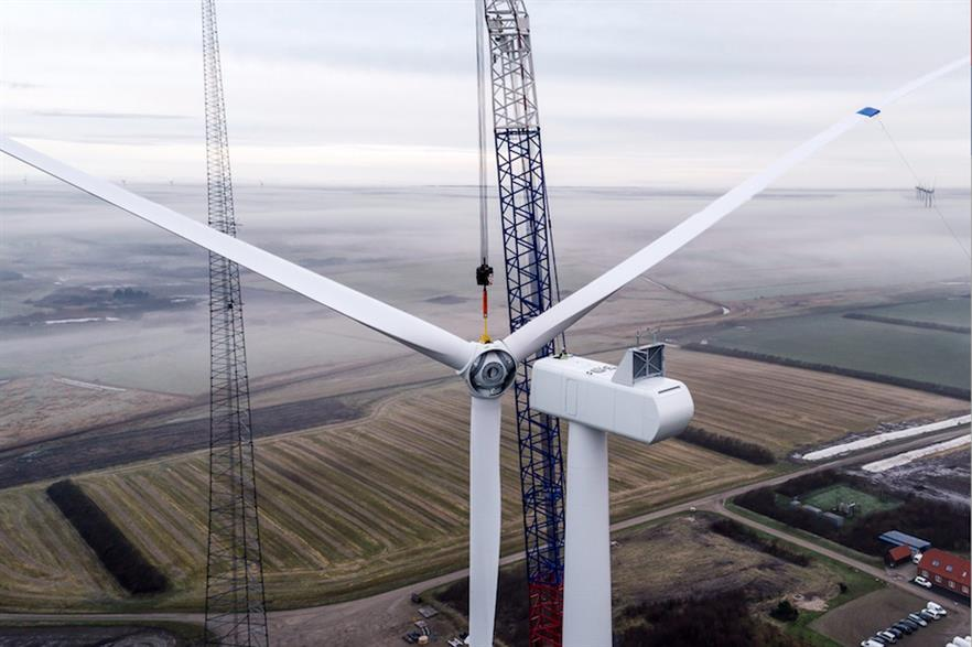 The prototype V116-2.0MW at the DTU's test site in Høvsøre (pic credit: Vestas Wind Systems)