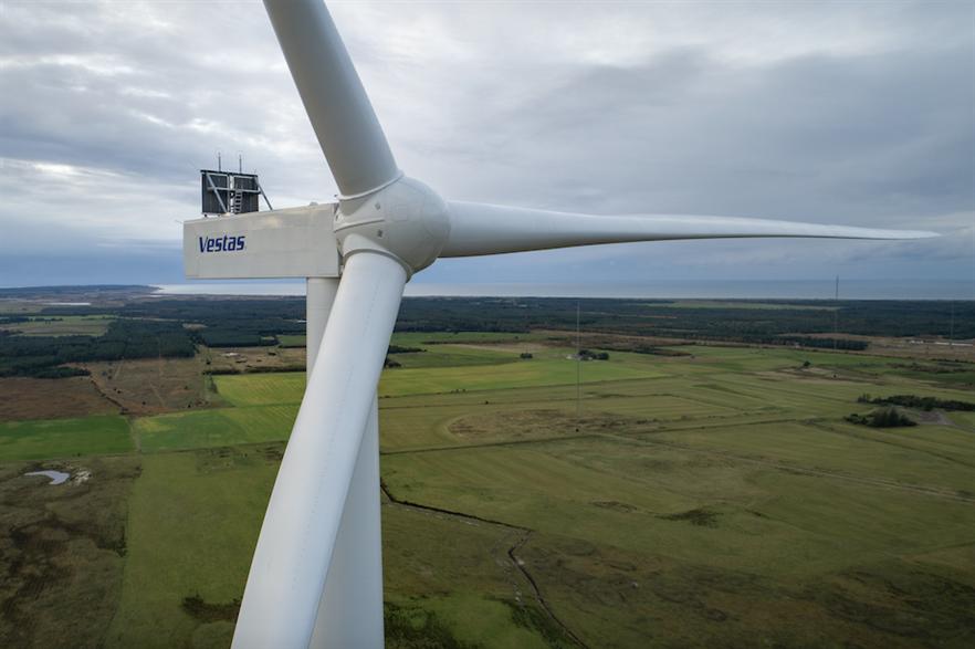 Vestas recently installed a prototype of its V162-6.0MW turbine in Denmark