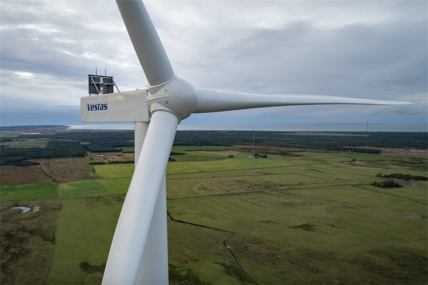 Vestas reported 17.4GW of orders in 2020, down 3% from the previous year