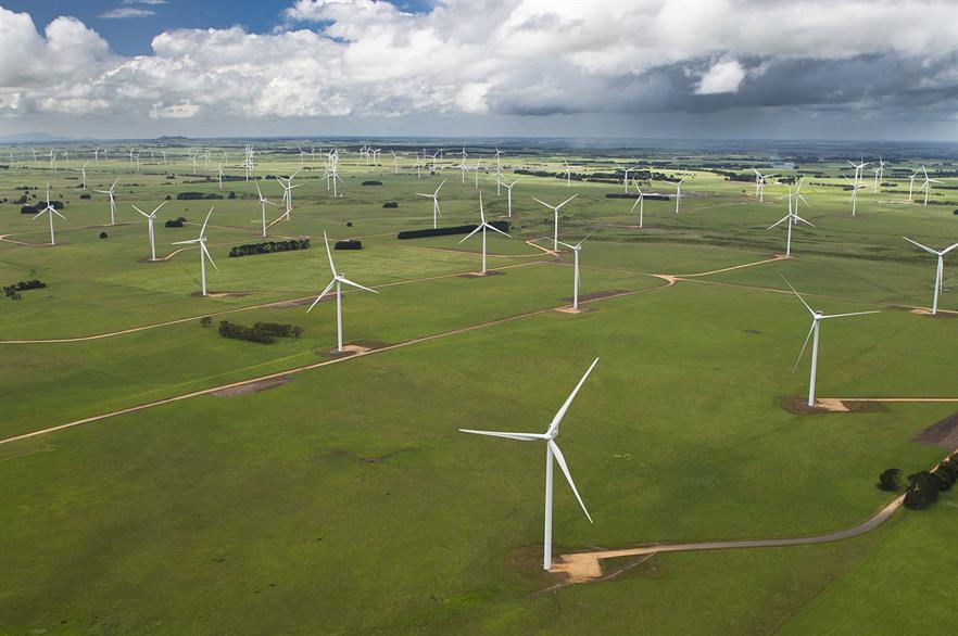 Vestas' V112 turbine was installed at the 420MW Macarthur project in Victoria, Australia