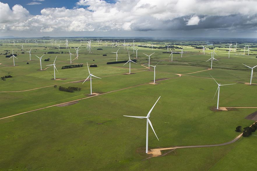 Wind power's costs will tumble by 16% as capacity doubles over the next 33 years, the report concluded (pic credit: Vestas)