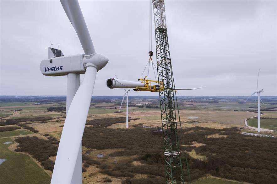 Vestas received 3,004MW of orders in Q1 2019 -- the fourth consecutive quarter of over 3GW of order intake