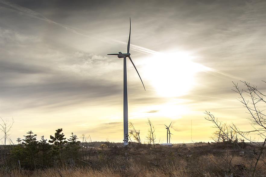 Vestas V126-3.3MW turbine will be installed at Mombyasen