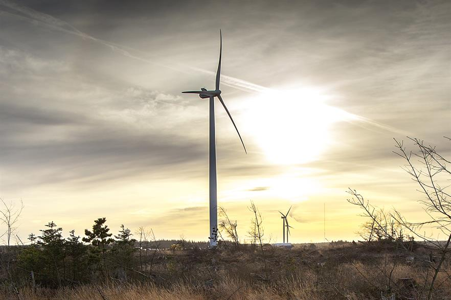 Six V126-3.45MW turbines will be installed in South Korea