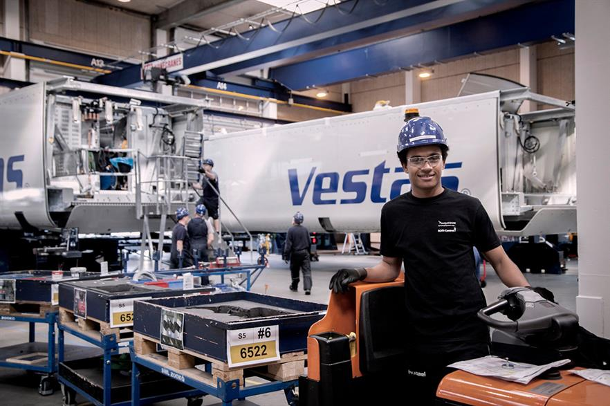 Vestas will open a nacelle and hub assembly plant in Buenos Aires