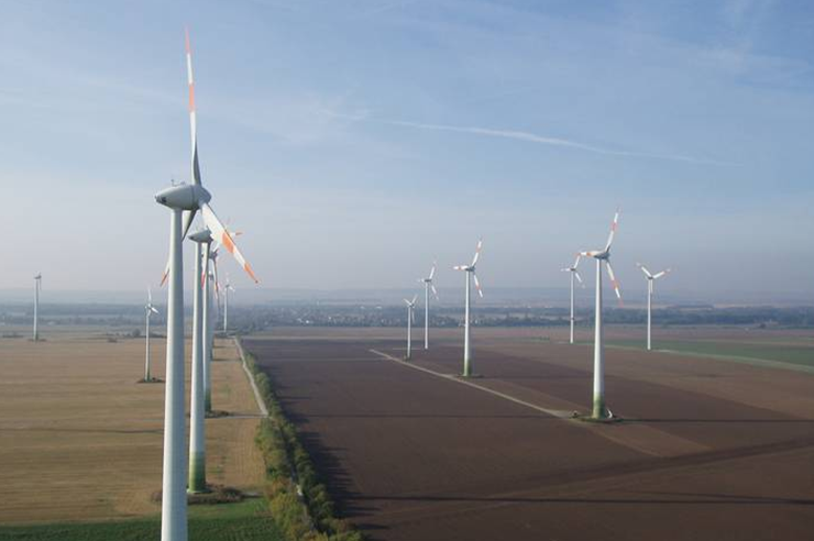 Volkswind's 63MW Egeln project in Germany, part of the portfolio acquired by Axpo