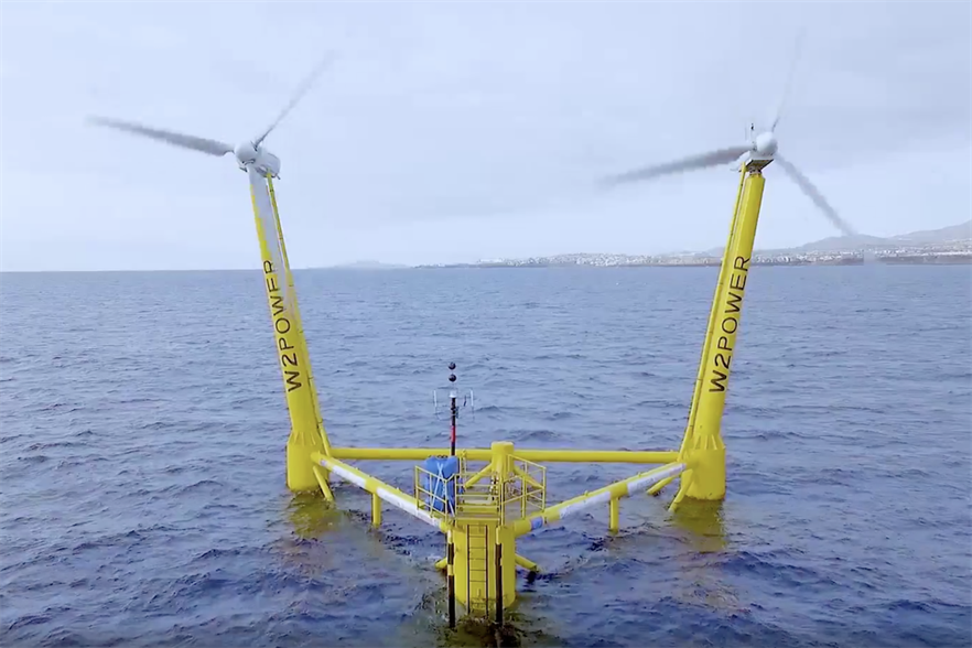 EnerOcean, through specific purpose subsidiary Canarrays, is also planning a floating project in the Canaries, using W2Power's technology