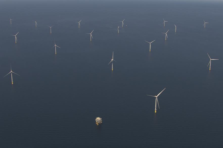 About 1.4GW of offshore wind capacity was added in the UK, including Ørsted's 659MW Walney Extension
