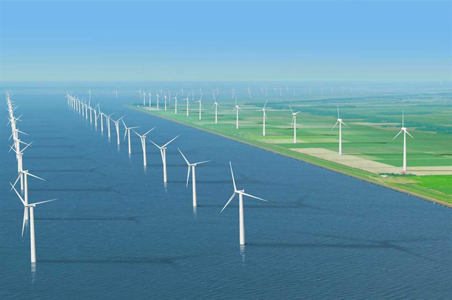 The developer also built the Westermeerwind site in the Ijsselmeer Lake, which also features Siemens Gamesa turbines