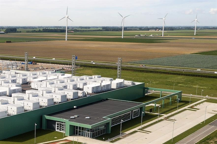When completed, Wieringemeer (above) will have 100 turbines in total, with a combined capacity of 295MW