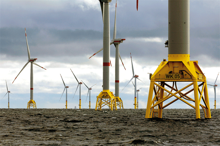 Iberdrola's European offshore projects include the Wikinger site in the German Baltic Sea