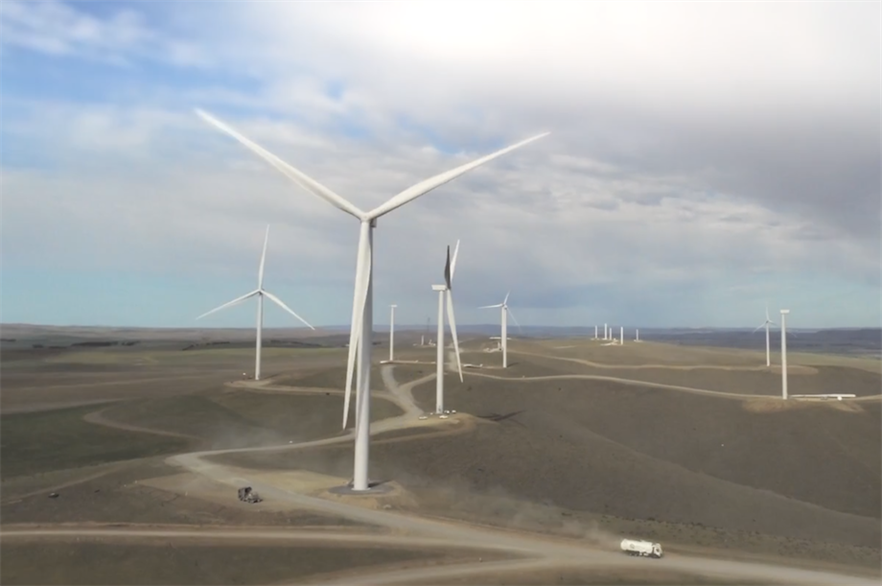 Hills of Gold will be Engie's second wind farm in Australia, following the 119MW Willogoleche project (above) in South Australia