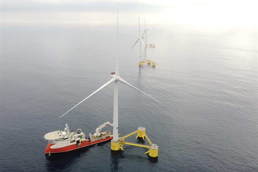 Members of BlueFloat's senior management team helped develop EDPR's WindFloat Atlantic project