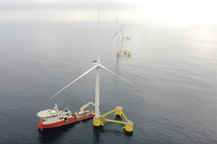 Members of BlueFloat's senior management team helped develop EDPR's WindFloat Atlantic project
