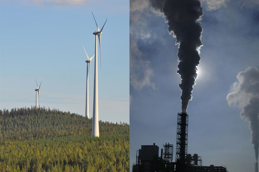 Renewable growth stalled in 2018, while emissions for the power sector increased -- the opposite of what should be happening