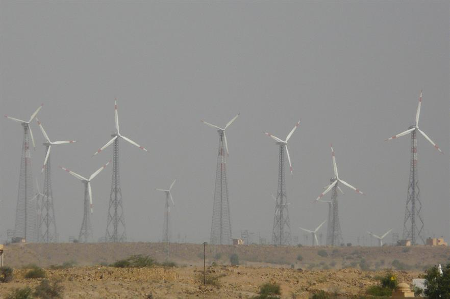 Rajasthan has over 4GW of wind capacity, but development has been halted since the introduction of federal auctions (pic: WikiCommons / Ashwin Kumar)