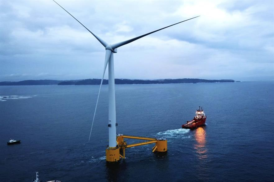 EDPR and Engie have previously collaborated on offshore wind farms, including the 25MW Windfloat Atlantic project (above)