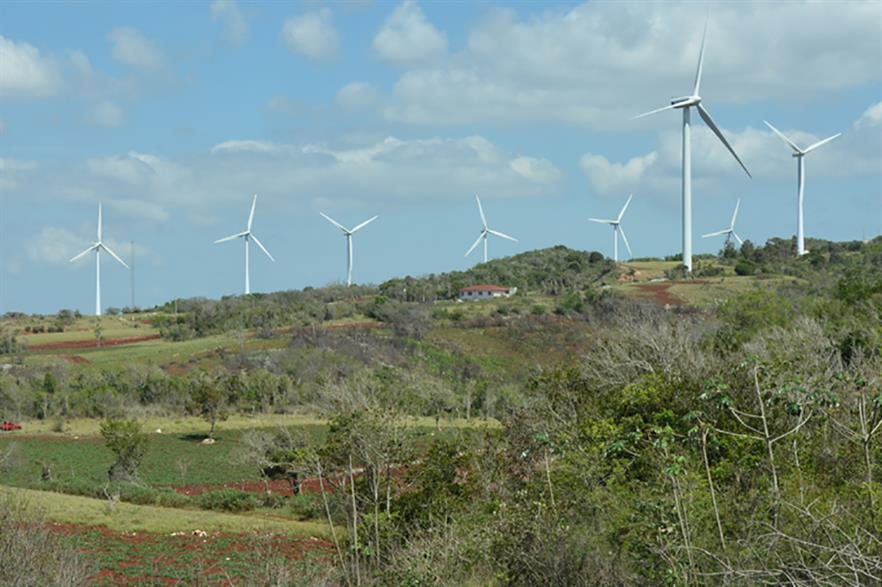 Jamaica's onshore capacity stands at 75MW -- with no offshore development to-date