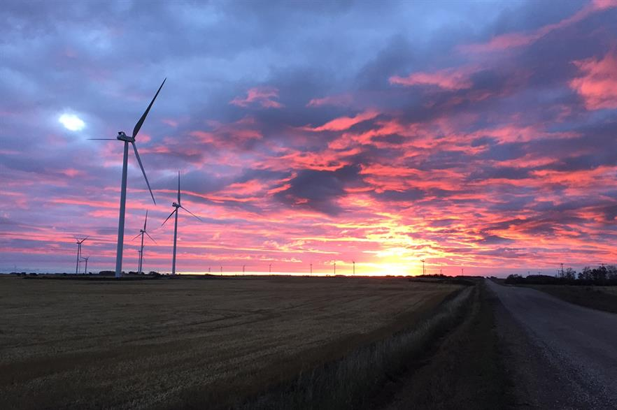 United States H1 financing for wind projects grew 121% year-on-year