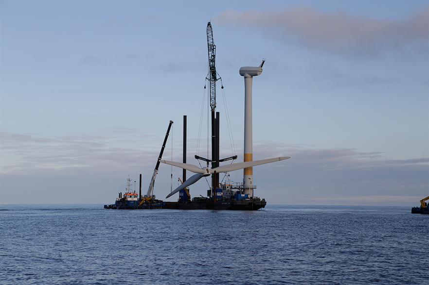 Vattenfall dismantled the 10MW Yttre Stengrund offshore wind farm in Sweden in 2016