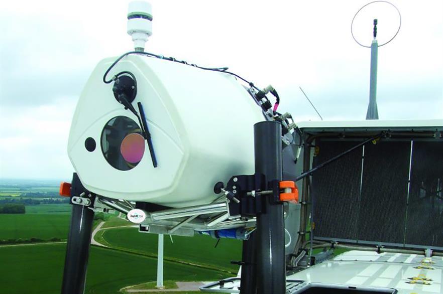 Zephir's nacelle-mounted lidar has met industry standards under DNV GL testing