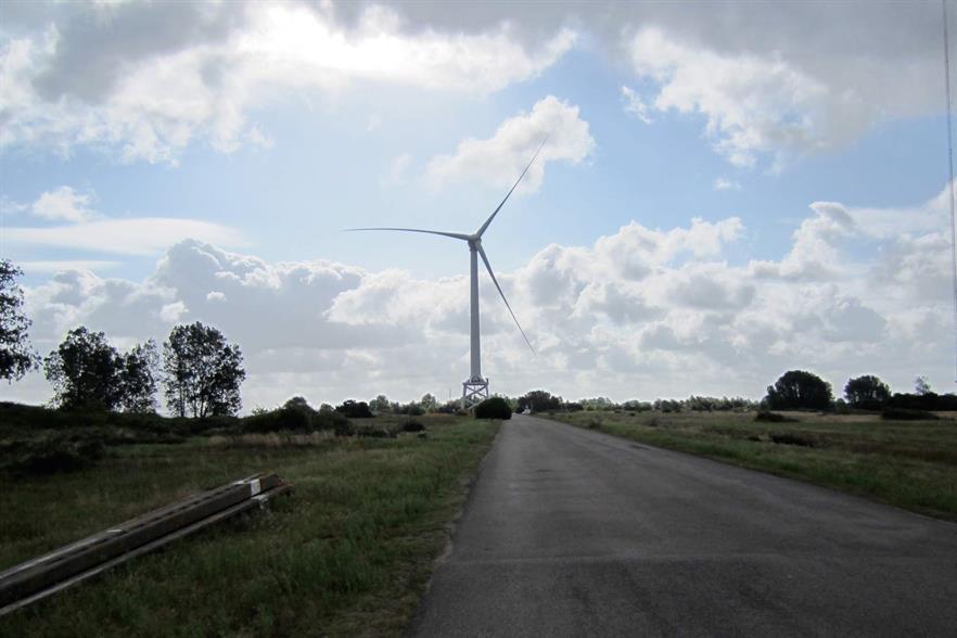 The Zefir site would have used Alstom's 6MW Haliade turbine
