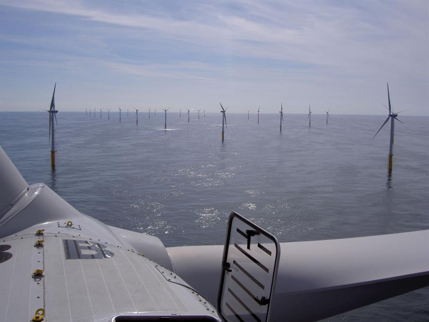 Belwind wind farm… one of two projects Sumitomo has invested in