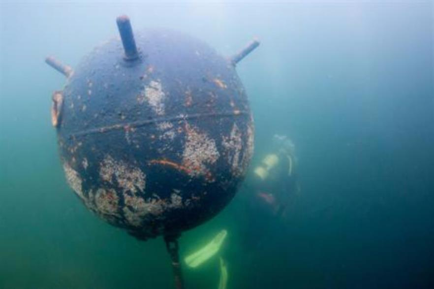 Unexploded munitions has hampered offshore development