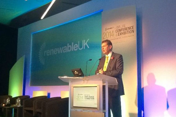 RenewableUK chairman Julian Brown