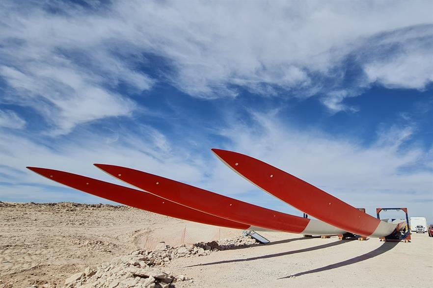 The Tchamma wind farm is part of the Condor portfolio (pic: Mainstream Renewable Power)