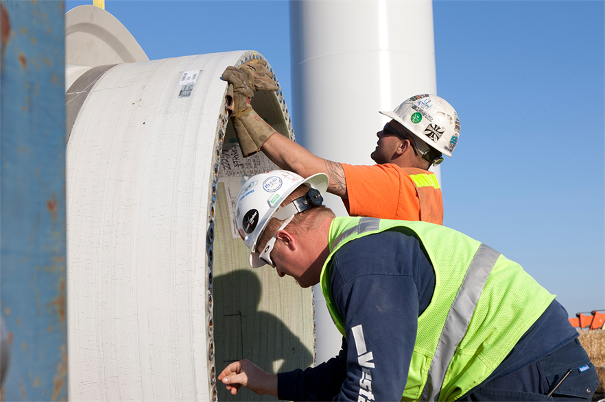 President Biden's $1.7 trillion American Jobs Plan, which is his plan for infrastructure, is currently at the centre of tense negotiations between the White House and Congressional Republicans (pic credit: Vestas)