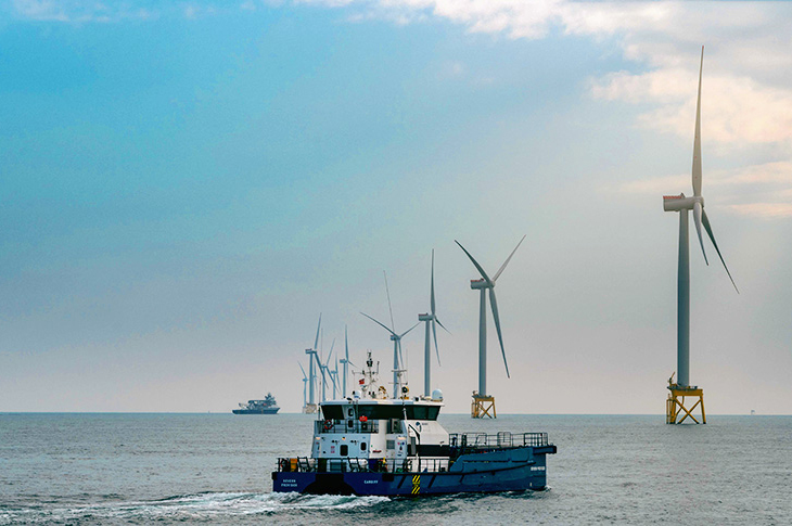 Production from Iberdrola's offshore wind sites in the UK and Germany partly offset lower earnings from its Spanish hydro sites