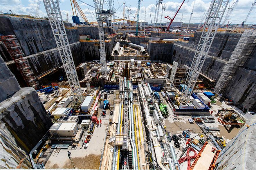The Hinkley Point C nuclear power plant is under construction in the UK (pic: EDF)