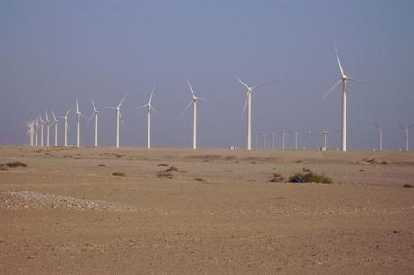 Gamesa turbines in Egypt