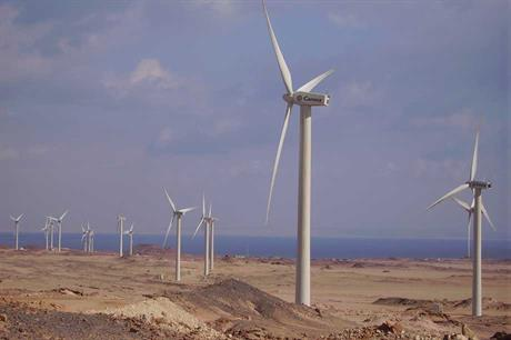 Egypt's installed wind capacity remains stuck on 810MW with no new build this year